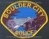 Boulder City PD Patch
