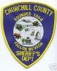 Churchill County Sheriff's Patch